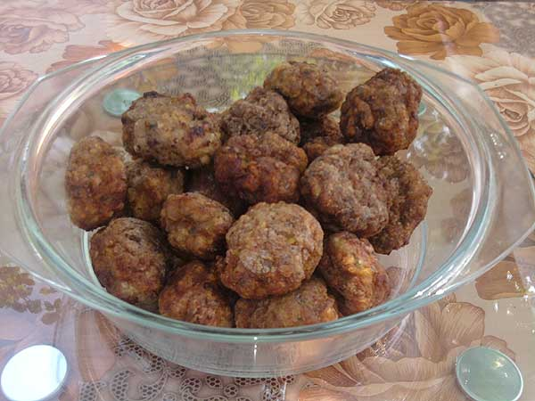 Piftele (chiftele) 2