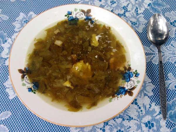 Ciorba de salata 2