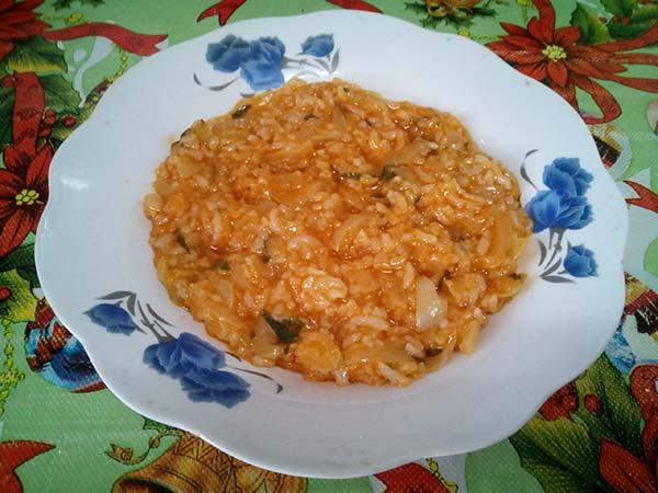 Tocană de legume cu orez